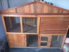 Guinea pig and rabbit hutch for sale please a fast sale