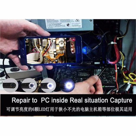 Эндоскоп бороскоп USB web камера (АНДРОИД OTG) глазок наблюдения 2м Кривой Рог - изображение 7