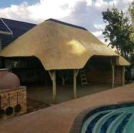 Donald Thatch roof