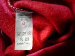 Новый свитер (толстовка, водолазка) с начесом на девочку 6-8 л. Турция