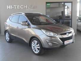 2011 HYUNDAI IX35 2.0CRDI AWD ELITE AUTO WITH 115000KMS