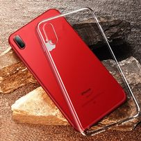 Etui Przeźroczyste IPhone X Ochrona Telefonu Back Case