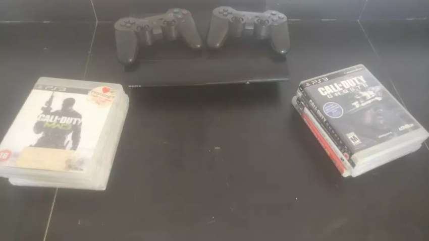 PS3 12G+8 Games 0