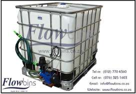 1000L NEW RAIN CAPTURE HARVEST TANK - POOL BACKFLUSH WATER IRRIGATION