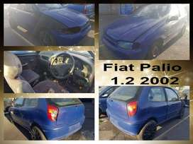 Fiat Palio 1.2 2002 stripping for spares.