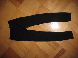 Nowe czarne legginsy XS/S
