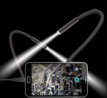 Мини Камера Видеокамера ORIGINAL Эндоскоп Бороскоп +OTG Все размеры