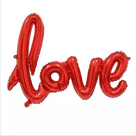 Balon napis LOVE na Walentynki, ślub, wesele i nie tylko Suchy Las - image 2