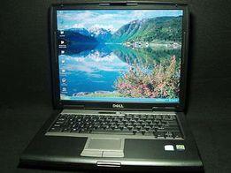 Trwały Dell D530 COM RS232 diagnostyka kpl. gotowy bat OK!