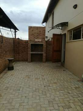2 bedroom flat on shared property