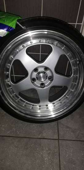 17inch rims and tyres