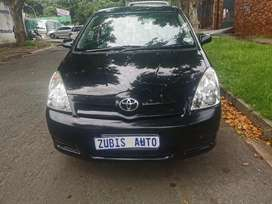 2007 Toyota Corolla With an engine capacity of 1,6