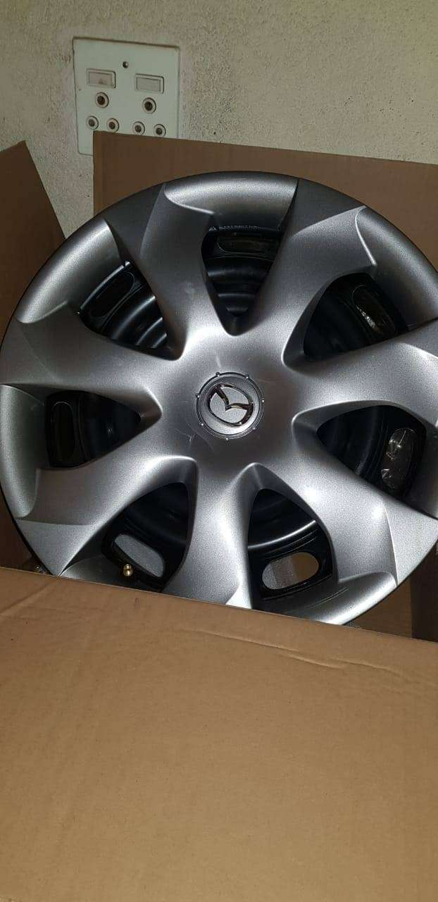 "16"" Mazda 3 rims and wheel caps (brand new) 0"