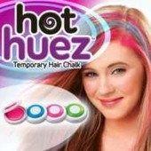 Мелки для волос Hot Huez цветная пудра,многоразовая,смывается водой
