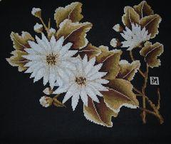 """Полотно """"Полдень"""" (вышивка болгарским крестом) Вышитая картина"""