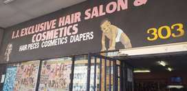 I J Exclusive hair salon & hair pieces &Pampers