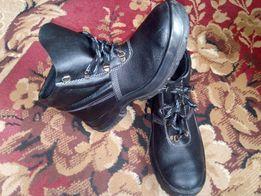 Ботинки мужские рабочие черные