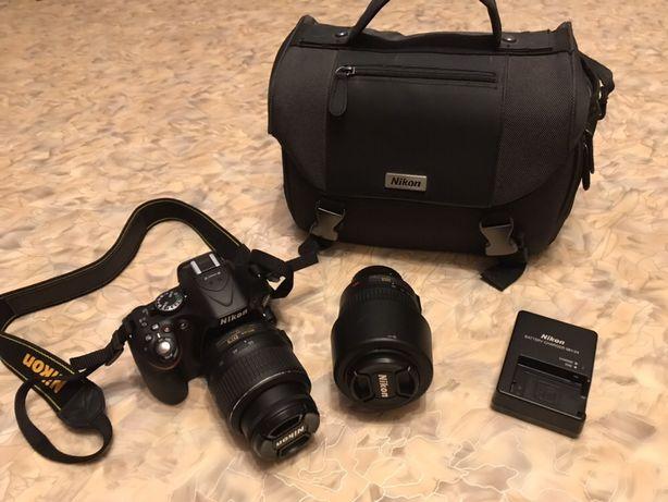 Продам фотоаппарат Nikon D5200 18-55 VR Kit + Nikkor 55-200 mm Баловка - изображение 4