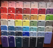 Чехол чохол айфон Apple silicone case iphone 5 SE 6 6s 6+ 7 7+ 8 8+ X