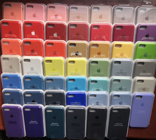 Чехол чохол айфон silicone case iphone 5 6 6+ 7 7+ 8 8+ X XS Max plus Львов - изображение 3
