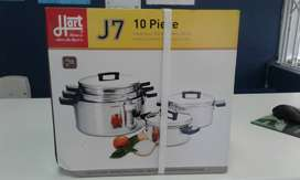 HART J7 10 PIECES COOKWARE SET