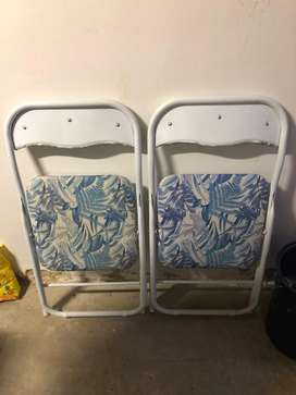 CUTE MR PRICE HOME GARDEN CHAIRS, BOTH FOR R200