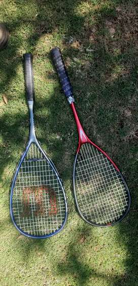 Squash racquets- 2 for R300 negotiable