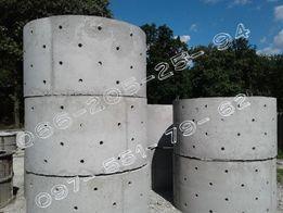 Ж/Бетонные колодезные кольца. Копка сливных ям,колодцев.Сливные ямы.