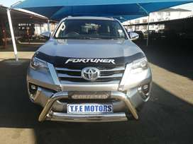 2018 TOYOTA FORTUNER 2.8 GD-6 AUTO