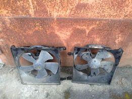 Вентилятор радиатор Chevrolet vektra b нексия ланос