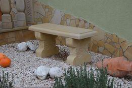 Ławki z piaskowca - kamień naturalny - promocja!!!