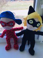 Игрушки Леди Баг и Супер-Кот.