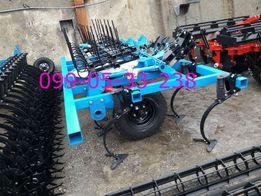 Культиватор КГШ-4 +4 ряда стрельчатых лап,3 ряда зубовых борон и КАТОК