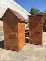 Туалеты деревянные