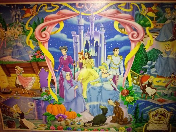 PUZZLE Supercolor KOPCIUSZEK Disney Princess 250 el. CLEMENTONI Otwock - image 3