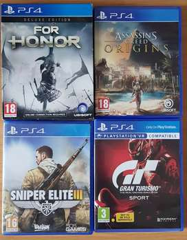 Ps4 games for sale or to swap.