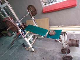 Selling my Bench press and weights