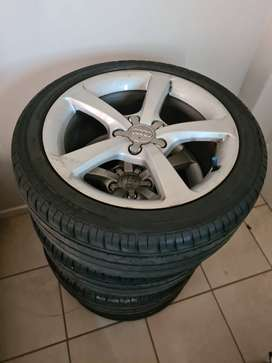 No. 17 Audi A3 Rims And Tyres