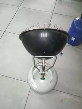 5kg gas bottle with gas heater
