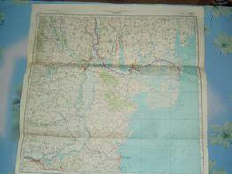 Карты генштаба СССР. Секретная часть. Украина и другие регионы.