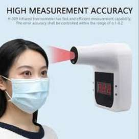 Non-Contact Infrared Temperature Measurement of Forehead or Body temps