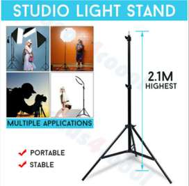 Adjustable 2.1m Light Stand Tripod for Studio Photo Softbox Flash Vide