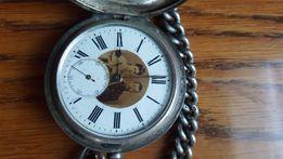 Часы карманные серебряные. Георг Фавр Жако. Локль. обмен