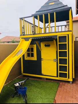 Jungle Gym Batcave Playhouse