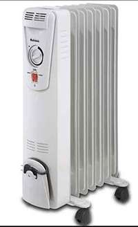 Image of Pineware 7 Fin 1500W oil filled heater