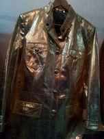 Кожаная куртка женская(Кожа.Италия)