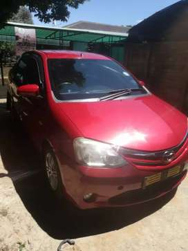 Selling Toyota etios in good condition just few minor scratches