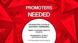 Promoter Needed