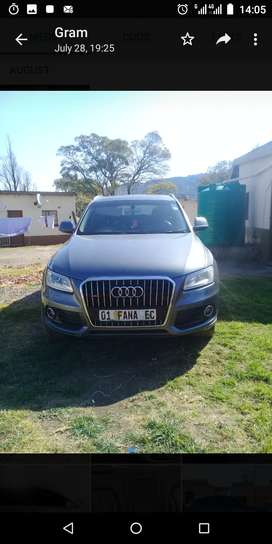 2014 q5, with both keys and spare wheel original