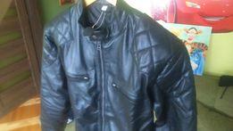 Kurtka skórzana motocyklowa vintage David Beckham ramoneska M,L,XL,XXL